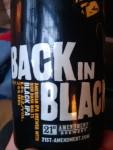 American Black Ale Craft Beer