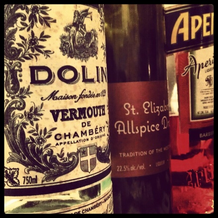 Vermouth, Allspice, Aperol