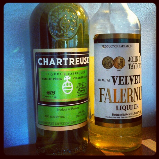 Chartreuse and Falernum