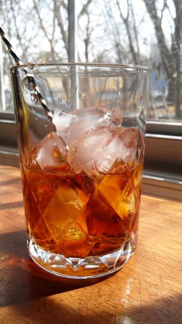 Tequila Manhattan Cocktail